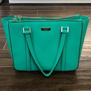 Kate Spade purse turquoise color